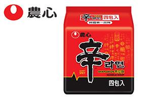 農心辛拉麵-4 入(480g)