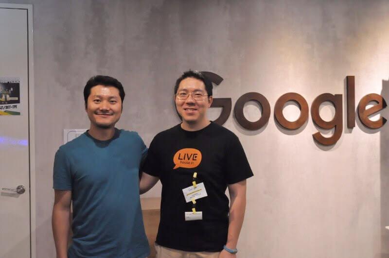 Google 亞洲區戰略發展經理倪亮及 iKala 執行長程世嘉先生